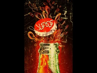 Coca-Cola advertisement plaque