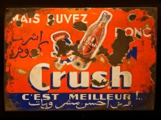 Crush enamel advertisement...