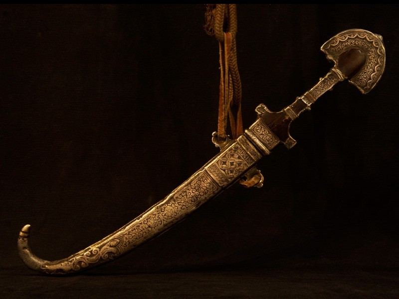 Antique Berber dagger or koummya