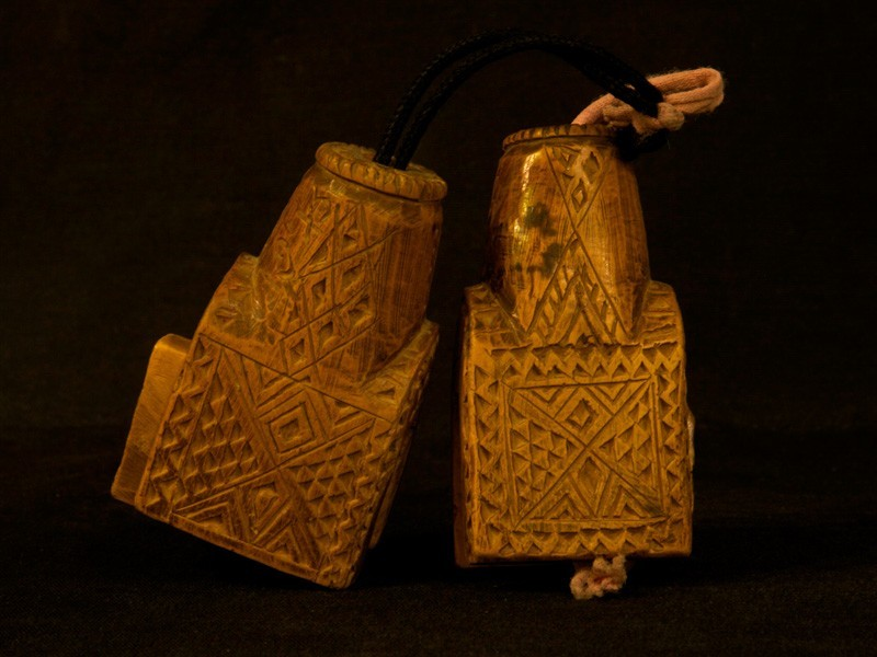 Berber wooden tie beams