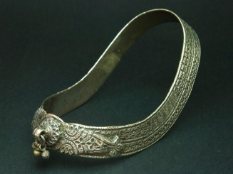 Kuchi. OId silver anklet.