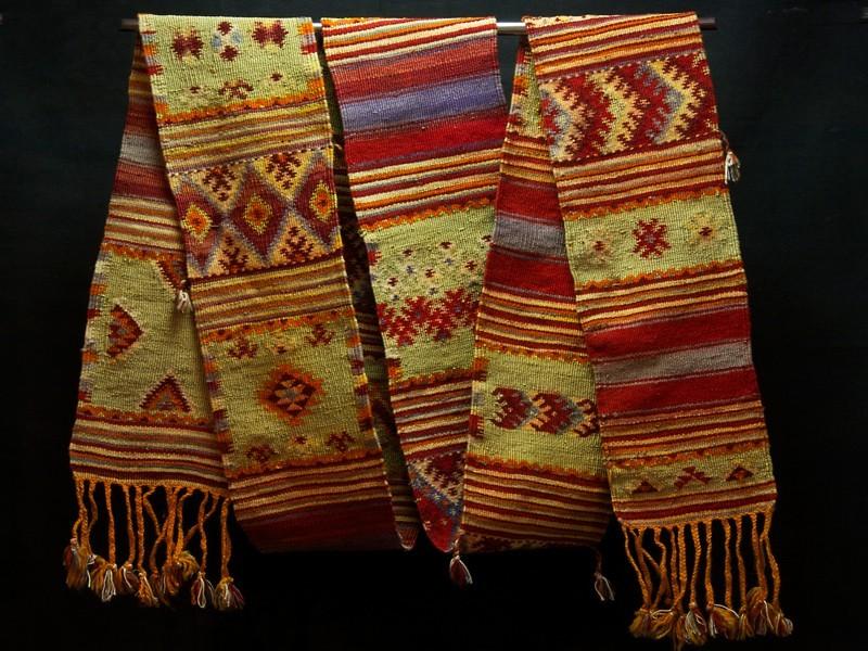 Cinturón antiguo seda Aït Ouarda