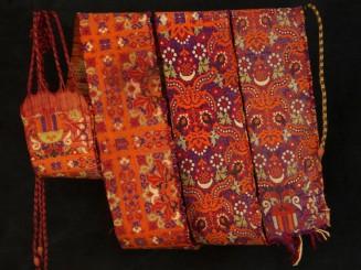 Moroccan woman's silk...