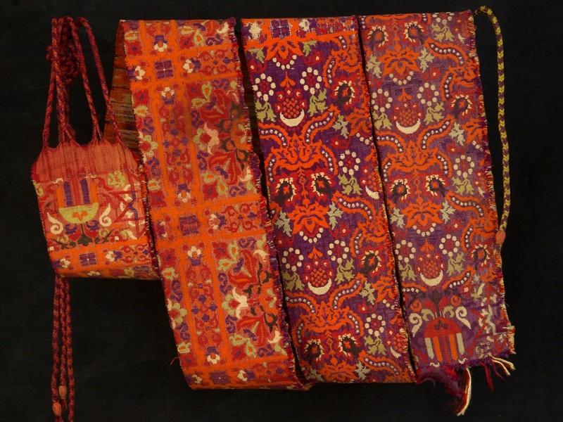 Cinturón marroquí seda ant.
