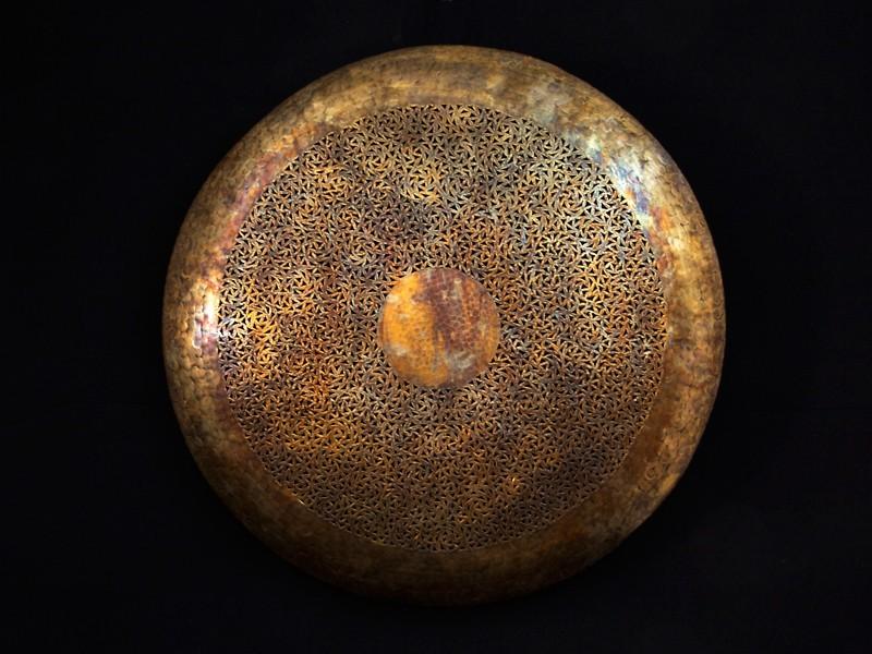 Plafón cobre troquelado