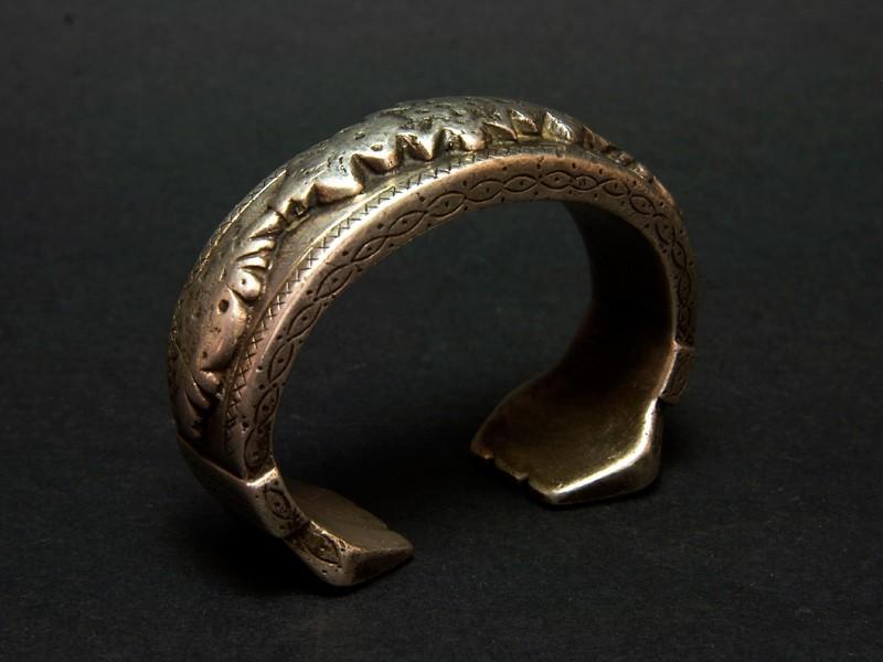 Uzbek silver bracelet