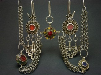 Old Berber silver earrings...