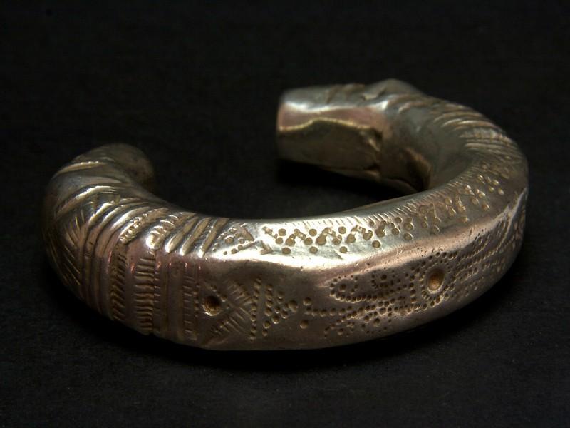 Old Afghan silver bracelet
