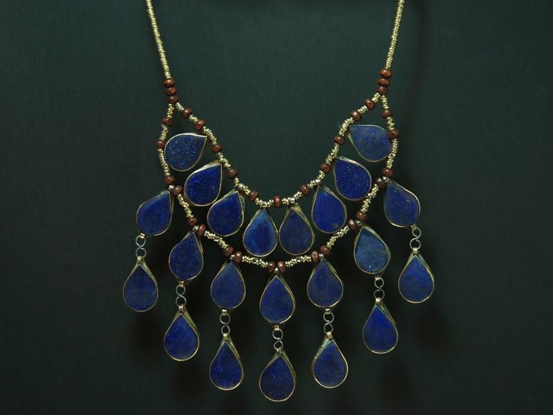 Lapislazuli kuchi necklace