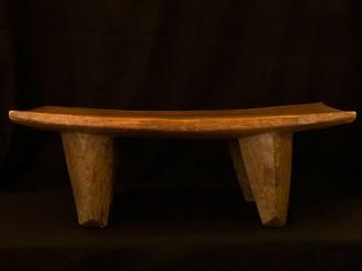 Malian solid wood low bench
