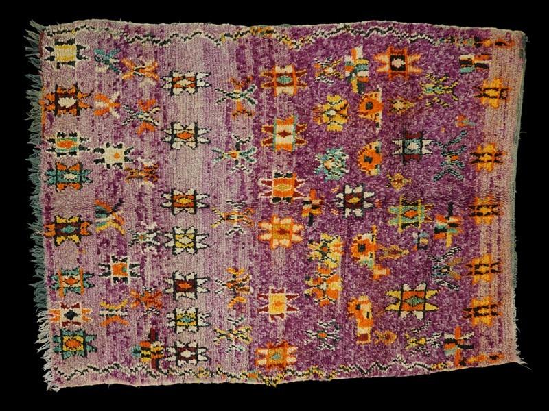 Berber Boujad wool rug