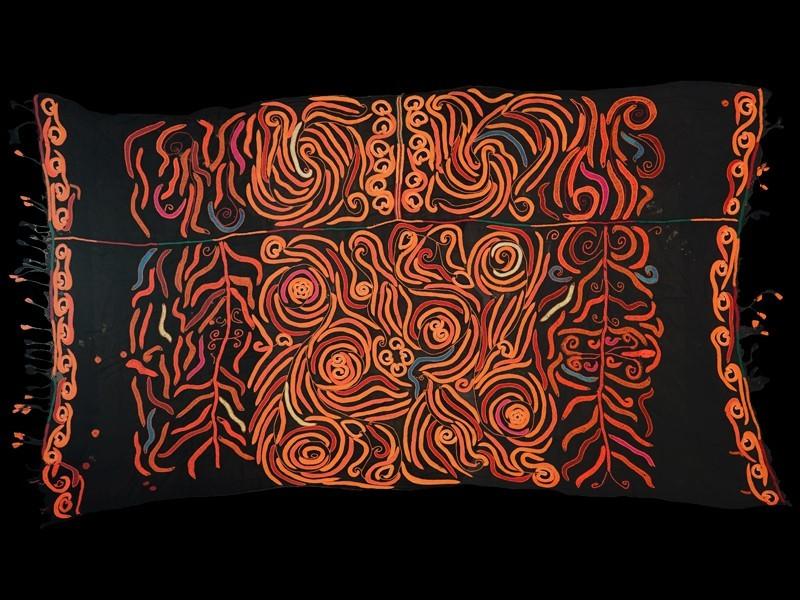 Aït Atta Berber shawl (-takhardit-, -tahruyt-)