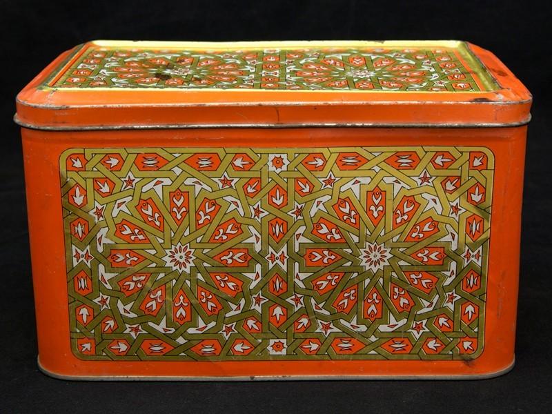 Caja lata vintage orientalista (G)