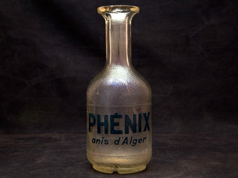 Botella ant. anís d'Alger Phénix