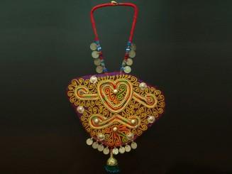 Kuchi tent amulet