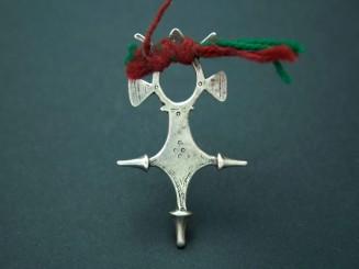 Agades. Old Tuareg silver cross