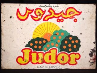 Judor  advertisement plaque
