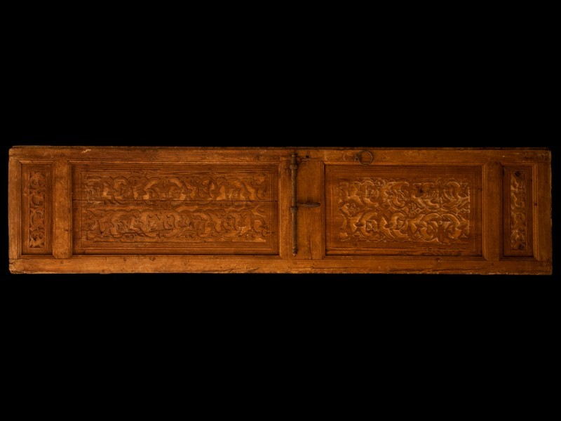 Morrocan old cedarwood door leaf