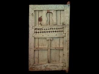 Old wooden Berber door from...