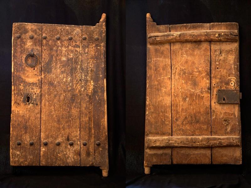 Puerta Aït Ouaouzguite madera ant. (P)