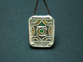 Hirz. Berber silver enamel...