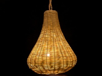 Wicker lamp S.