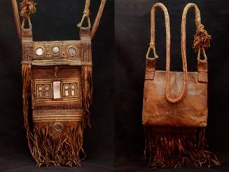 Rif. Man's leather bag