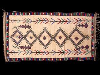 Azilal vintage Berber rug