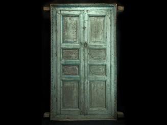 Moroccan antique wooden...